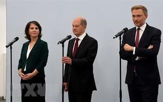 ドイツ、緑の党が正式協議入りを党会合で承認-3党連立に向け