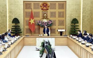 Premierminister Pham Minh Chinh trifft Vertreter von UN-Organisationen in Vietnam