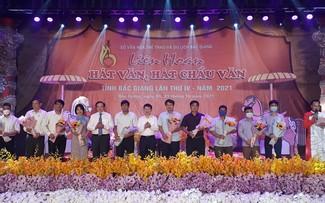 Festival des Chau Van-Gesangs der Provinz Bac Giang 2021