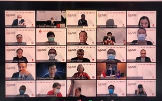 Online-Konferenz der Leiter des Roten Kreuzes und Roten Halbmondes in Südostasien eröffnet
