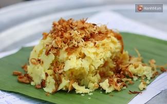 Клейкий рис «сео» «Тыонг Май» - специфическое блюдо на завтрак жителей Ханоя