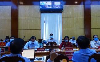 Thành phố Hồ Chí Minh tổ chức tiếp xúc cử tri trực tuyến, tương tác trên trang bầu cử điện tử