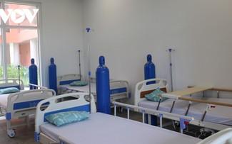 Bình Dương đưa thêm 2 bệnh viện dã chiến vào hoạt động