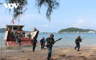 Hải quân nhân dân Việt Nam vượt mọi khó khăn, bảo vệ chủ quyền biển, đảo của Tổ quốc