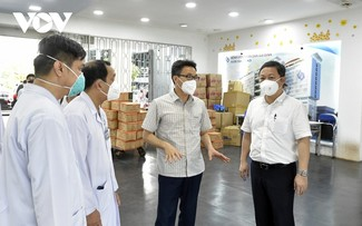 Thành phố Hồ Chí Minh tập trung điều trị bệnh nhân COVID-19 nặng