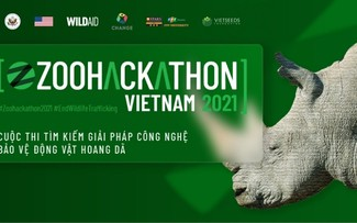 Zoohackathon Vietnam 2021: Competition on innovation to save wildlife launched