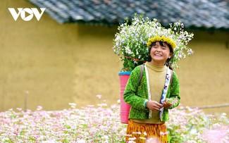 Провинция Хазянг в сезон цветения гречихи