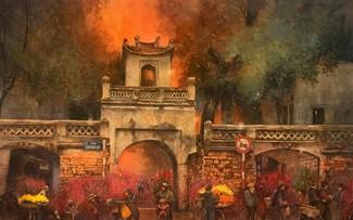 Ханой на картинах сайгонского художника