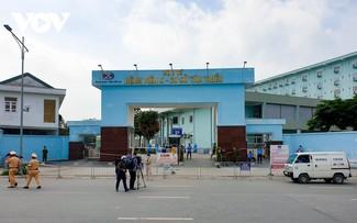 Hình ảnh phong tỏa Viện K Tân Triều sau khi phát hiện 10 ca mắc Covid-19