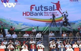 Khai mạc Giải Futsal HDBank Vô địch quốc gia 2021