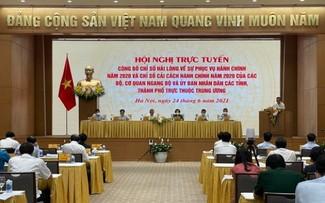 Ngân hàng Nhà nước Việt Nam và tỉnh Quảng Ninh tiếp tục dẫn đầu Chỉ số cải cách hành chính năm 2020