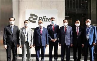 Pfizer cam kết cung cấp đủ 31 triệu liều vaccine cho Việt Nam trong năm nay