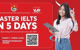 """Học trực tuyến """"Master IELTS in 5 days"""" dành cho học sinh, sinh viên"""