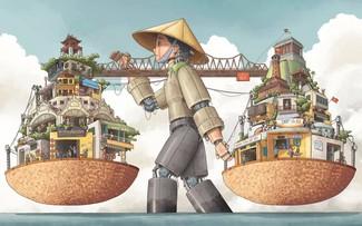 Nhiều góc nhìn thú vị qua tranh minh hoa dự thi chủ đề về Hà Nội