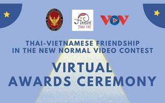 """Trực tiếp - Lễ trao giải Cuộc thi Sáng tạo video """"Thai-Vietnamese Friendship in the New Normal"""""""