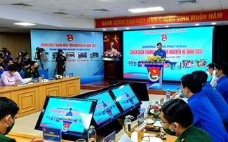 Campaña de Jóvenes Voluntarios del verano de 2021 arranca en varias localidades vietnamitas
