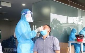 El número de nuevos casos del covid-19 en Vietnam continúa reduciéndose