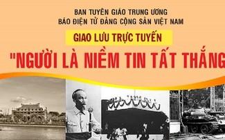Échange en ligne sur le président Hô Chi Minh