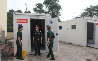 Covid-19: Un nouveau centre de dépistage installé à Bac Giang