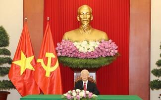 Entretien téléphonique entre Nguyên Phu Trong et le président du Sri Lanka