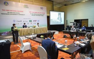Dialogue national sur la garantie de la sécurité alimentaire dans le monde