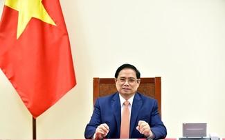 Entretien téléphonique Pham Minh Chinh – Angela Merkel