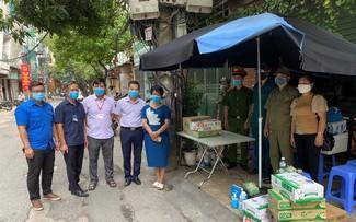 Quand les collectivités de Hanoi s'engagent dans la lutte anti-Covid-19...