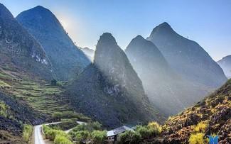A bird's-eye view of Ha Giang's stunning landscape