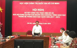 Human rights important in Vietnamese education