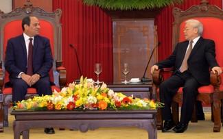 """Đại sứ Ai Cập """"thật sự ấn tượng"""" với bài viết của Tổng Bí thư Nguyễn Phú Trọng"""