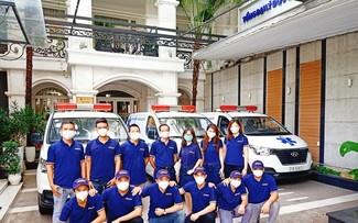 'Đội xe tình nguyện' chuyên chở F0: Để không bỏ lại ai phía sau!