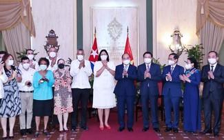 Chủ tịch nước Nguyễn Xuân Phúc: Nhân dân Việt Nam luôn sát cánh cùng nhân dân Cuba anh em
