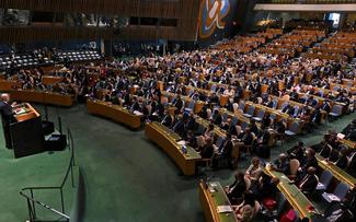 Chủ tịch nước Nguyễn Xuân Phúc dự khai mạc Phiên thảo luận chung cấp cao Khóa họp thứ 76 Đại hội đồng Liên hợp quốc
