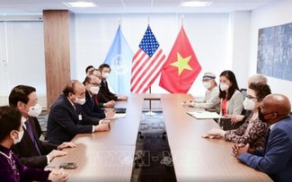 Việt Nam trân trọng sự ủng hỗ, giúp đỡ của bạn bè Hoa Kỳ