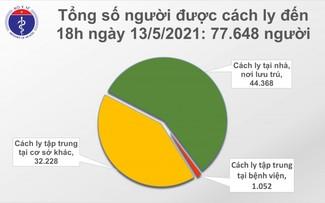 Chiều 13/5, Việt Nam có thêm 31 ca mắc mới COVID-19