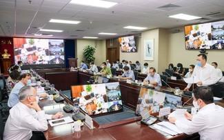 Thực hiện nghiêm công tác phòng chống dịch bệnh covid 19 trong các cơ sở công nghiệp và thương mại