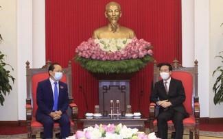 Việt Nam luôn coi trọng và tăng cường hợp tác toàn diện, bền vững lâu dài với Campuchia