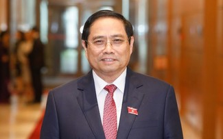 Ông Phạm Minh Chính được giới thiệu để Quốc hội bầu Thủ tướng nhiệm kỳ 2021 - 2026