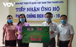 VOV trao quà ủng hộ Thanh Hoá phòng chống dịch COVID-19