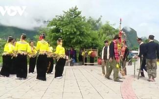 Hưn mạy - nhạc cụ truyền thống  của đồng bào dân tộc Kháng ở Quỳnh Nhai