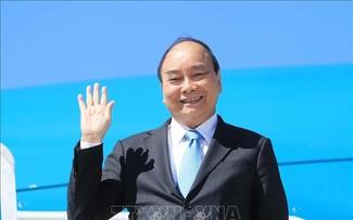 Chủ tịch nước Nguyễn Xuân Phúc rời thành phố New York (Hoa Kỳ) về nước