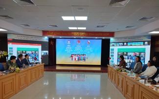 Bế mạc Chương trình giao lưu hữu nghị thanh niên  Việt Nam - Lào - Campuchia 2021