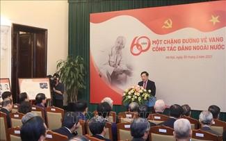 Công tác đảng ngoài nước: 60 năm - Một chặng đường vẻ vang