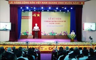 Hà Tĩnh kỷ niệm 115 năm Ngày sinh Tổng Bí thư Hà Huy Tập