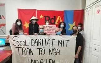 Đảng Lao động Thụy Sĩ bày tỏ sự đoàn kết với các nạn nhân chất độc da cam/dioxin Việt Nam