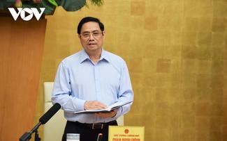 Thủ tướng Phạm Minh Chính yêu cầu bảo đảm sức khoẻ, tính mạng của người dân là trên hết