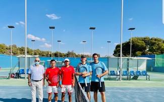 Đội tuyển quần vợt Việt Nam có trận ra quân thắng lợi ở Davis Cup