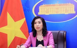 Việt Nam sẵn sàng chia sẻ thông tin và hợp tác vì hòa bình, phát triển