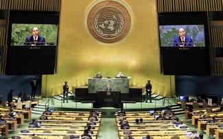 Việt Nam ngày càng khẳng định vai trò trong các vấn đề toàn cầu