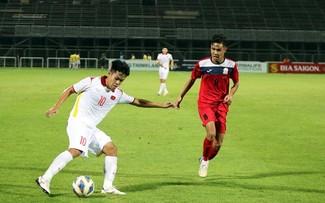 Giao hữu bóng đá: U23 Việt Nam thắng U23 Kyrgyzstan 3 - 0
